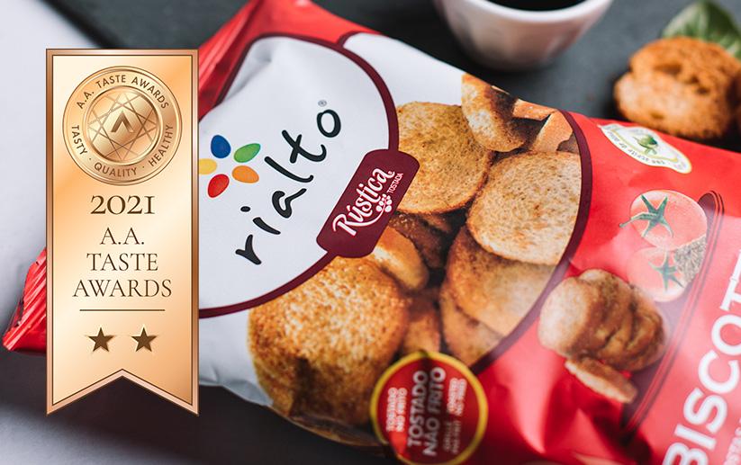 Biscottinas Tomate e Orégãos - A.A. Taste Awards 2021