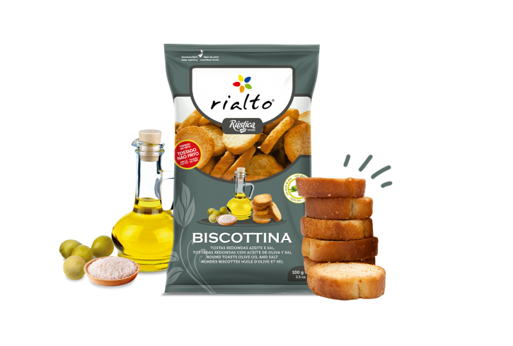Biscottina - Olive oil & Salt 100 g