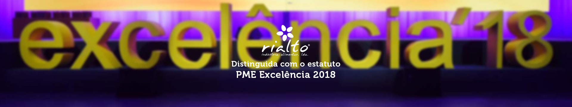 Rialto distinguished PME Excellence 2018