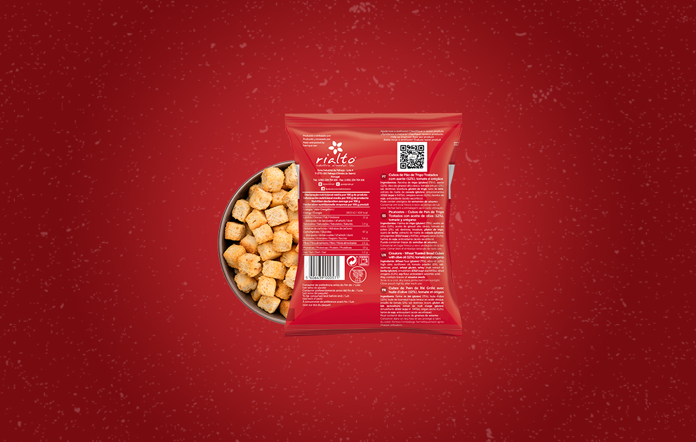 Croutons - Picagrill Tomate & Orégãos 75 g