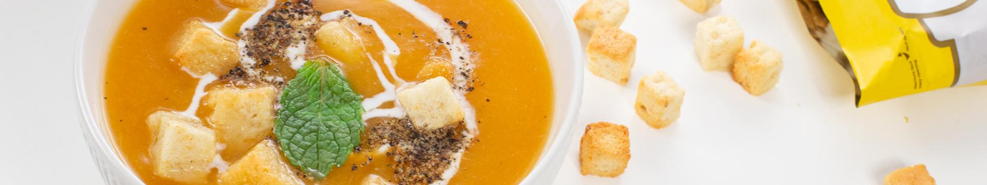 Sopa fría de calabaza