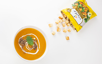 Pumpkin cold soup