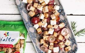 Salada de Uva e Feta
